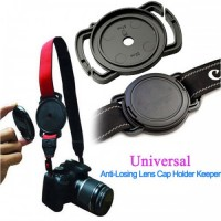 52mm,58mm,67mm  Lens Cap Cover Anti Lost Buckle Holder