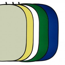 150x200 Collapsible Reflector Gold Silver Green Blue Diffuser 7in1